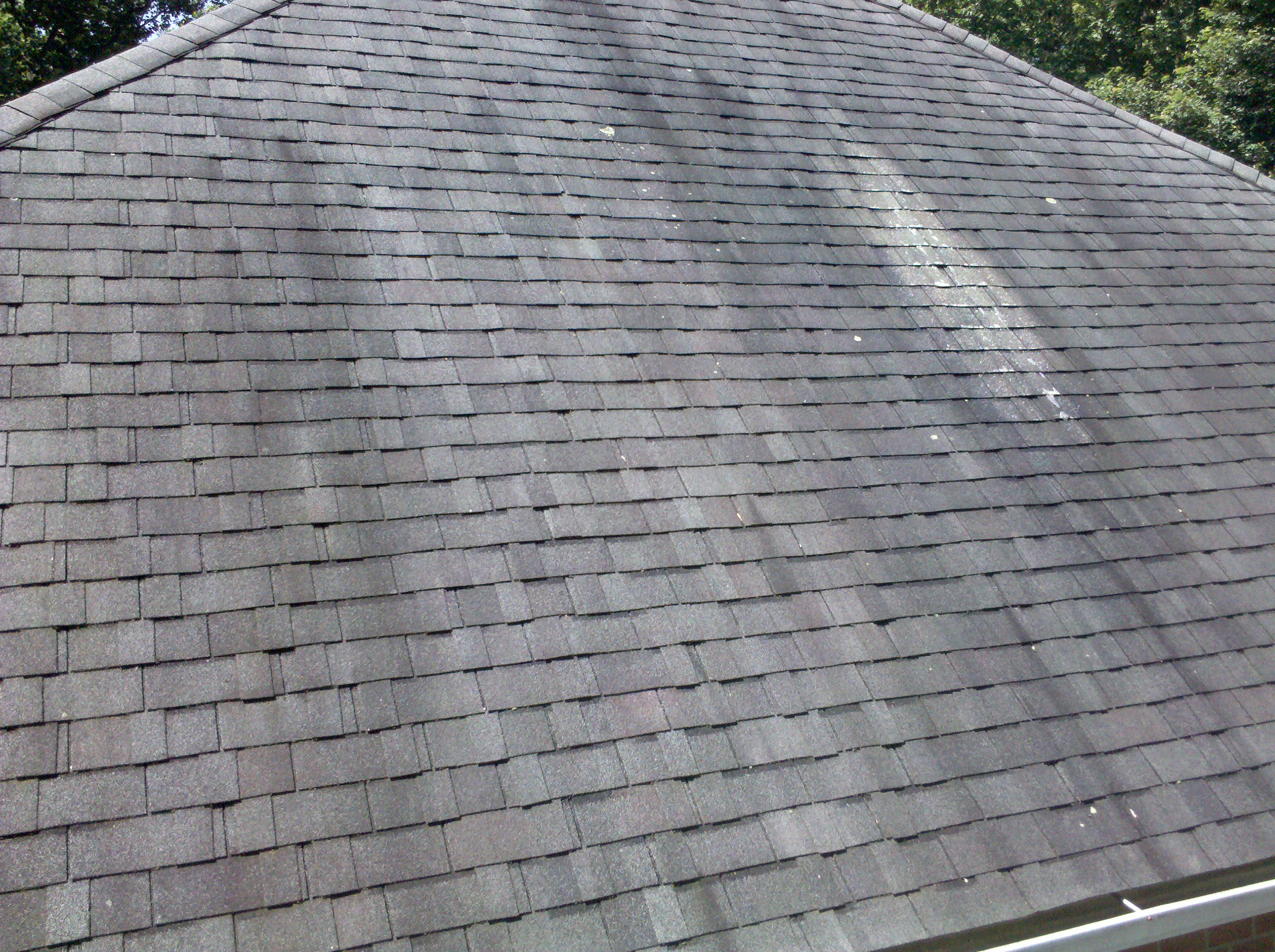 dirty looking roof