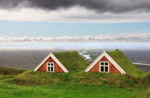 icelandic farm houses