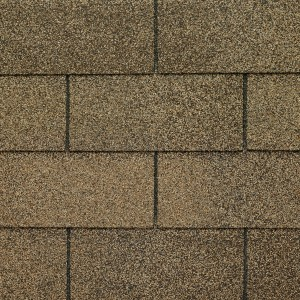 Close up photo of GAF's Royal Sovereign Summer Sage shingle swatch
